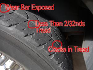 Tire Tread Wear Indicator >> Tire Tread Wear - Cocoa Quality TireCocoa Quality Tire
